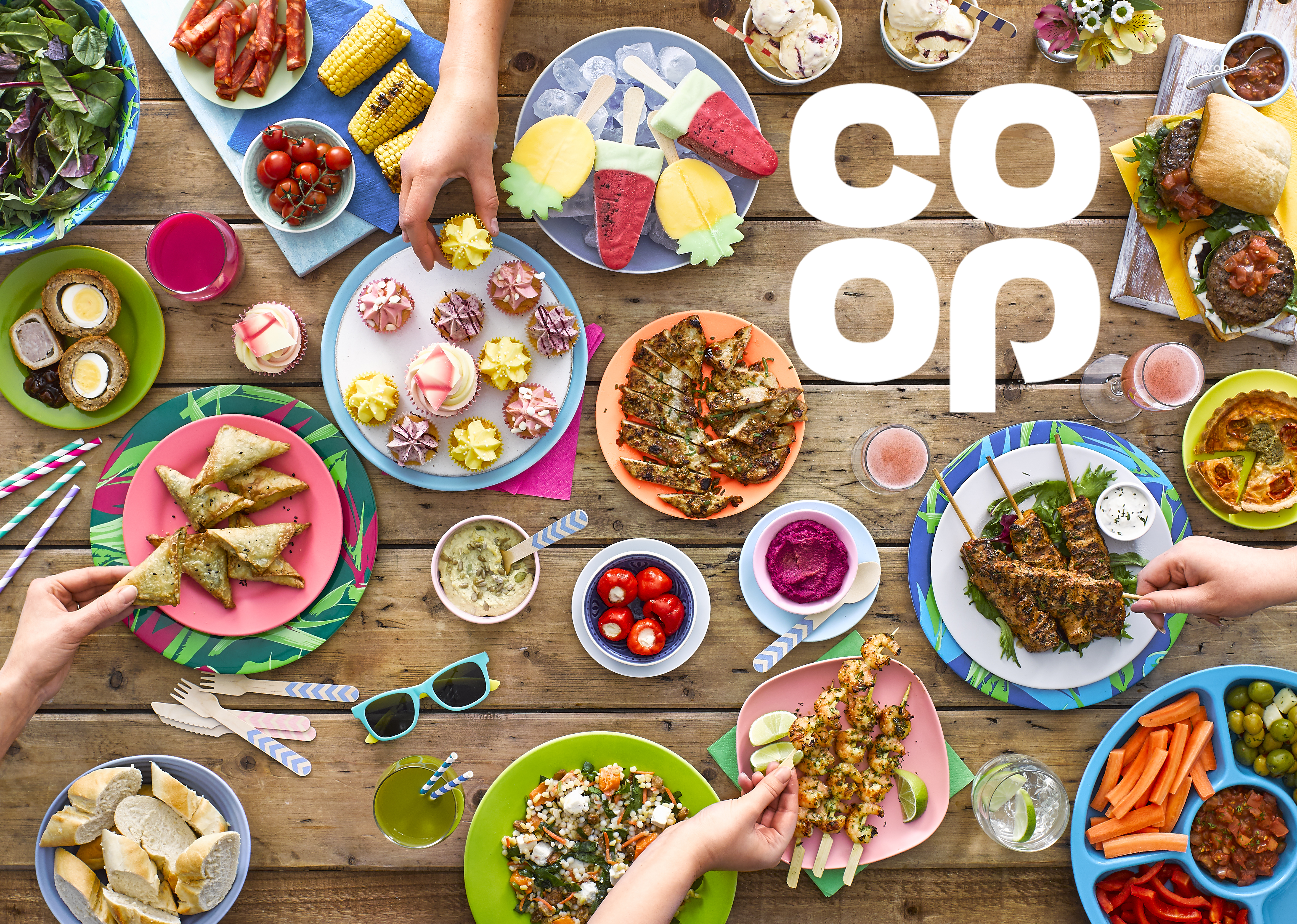 Co-op Foods Summer Press pack