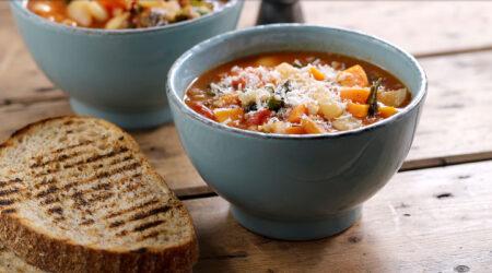 Tomato and Sardine Tagliatelle