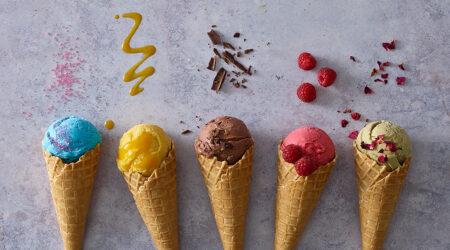 Ice cream photography